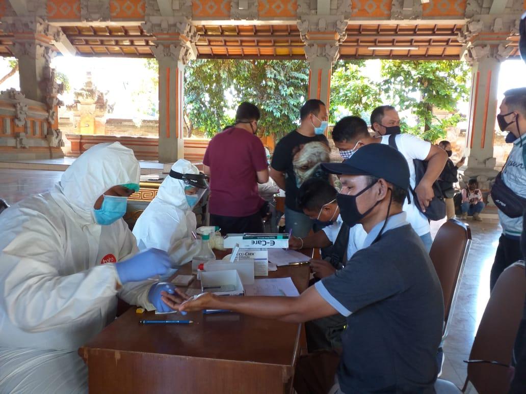 Puluhan Wartawan Di Bali Lakukan Rapid Test Covid 19 Dengan Hasil Semua Non Reaktif Nangunsatkertilokabali Com