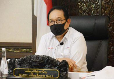 Wagub Cok Ace Rapat Dengar Pendapat Bersama BLUD DPD RI