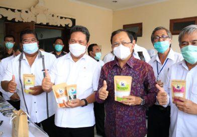Menteri Kelautan dan Perikanan RI Siap Dukung Gubernur Koster Kembangkan Potensi Laut Bali