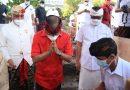 Gubernur Wayan Koster Meletakkan Batu Pertama Pembangunan Gedung MDA Kabupaten Badung