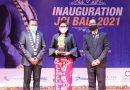 """Ny. Putri Koster, Hadiri Acara Serah Terima Jabatan JCI, """"Bersama Sinergi Bangkitkan UMKM Bali"""""""