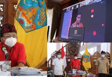 Gubernur Koster Ikuti Rilis Data Kependudukan Secara Bersama-Sama BPS-Kemendagri