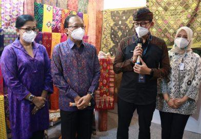 Menparekraf Sandiaga Uno Puji Penyelenggaraan Pameran IKM Bali Bangkit
