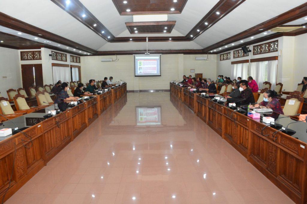 DPRD Bali Gelar Rapat Kerja dengan Dinas Koperasi UKM Prov Bali