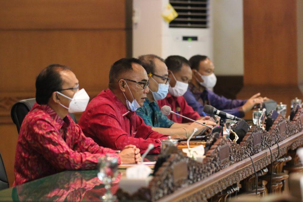 DPRD Bali Gelar Sidang Paripurna ke-10 Masa Sidang II Tahun 2021