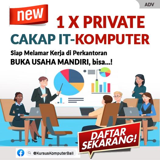 Iklan Promosi Kursus Komputer Bali