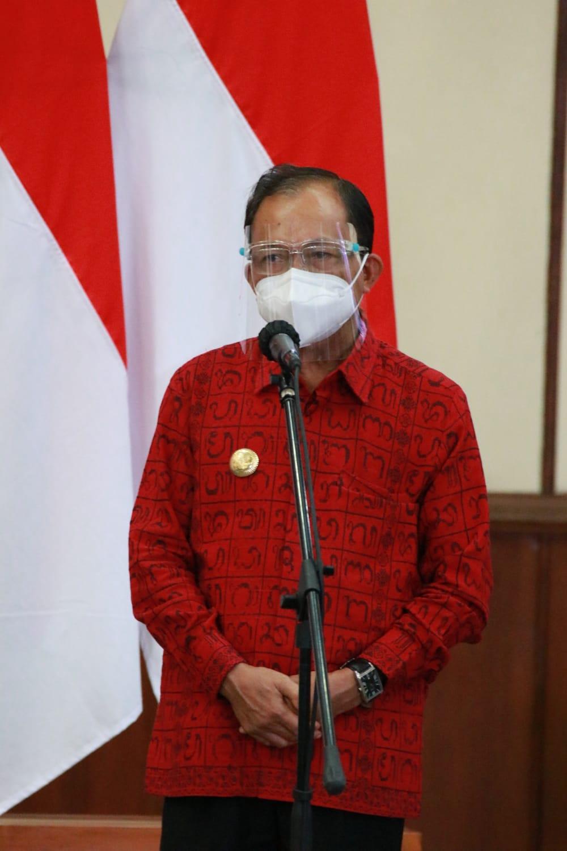 Terima Kunjungan Presiden Jokowi, Gubernur Koster Laporkan Bali Siap Terima Wisman 14 Oktober 2021